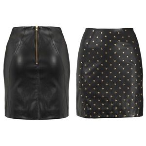Top Shop Faux leather skirt